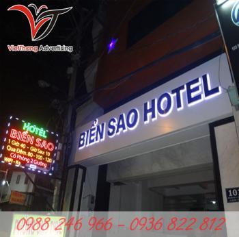 Biển chữ nổi khách sạn