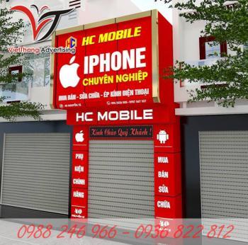 Biển quảng cáo cửa hàng điện thoại
